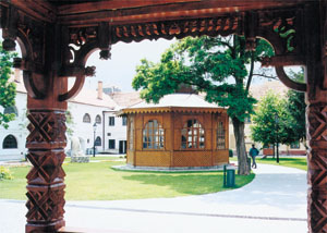 The Music Pavilion from the bell tower